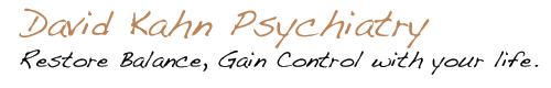 David Kahn Psychiatry